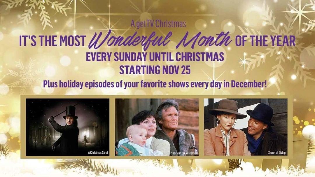 Christmas Programming 2018   getTV