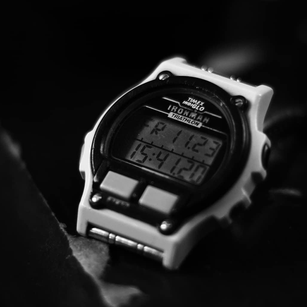 311a3c6d3bf4 Reloj Ironman Transit de 40 mm con correa de velcro negra Fast-Wrap ...