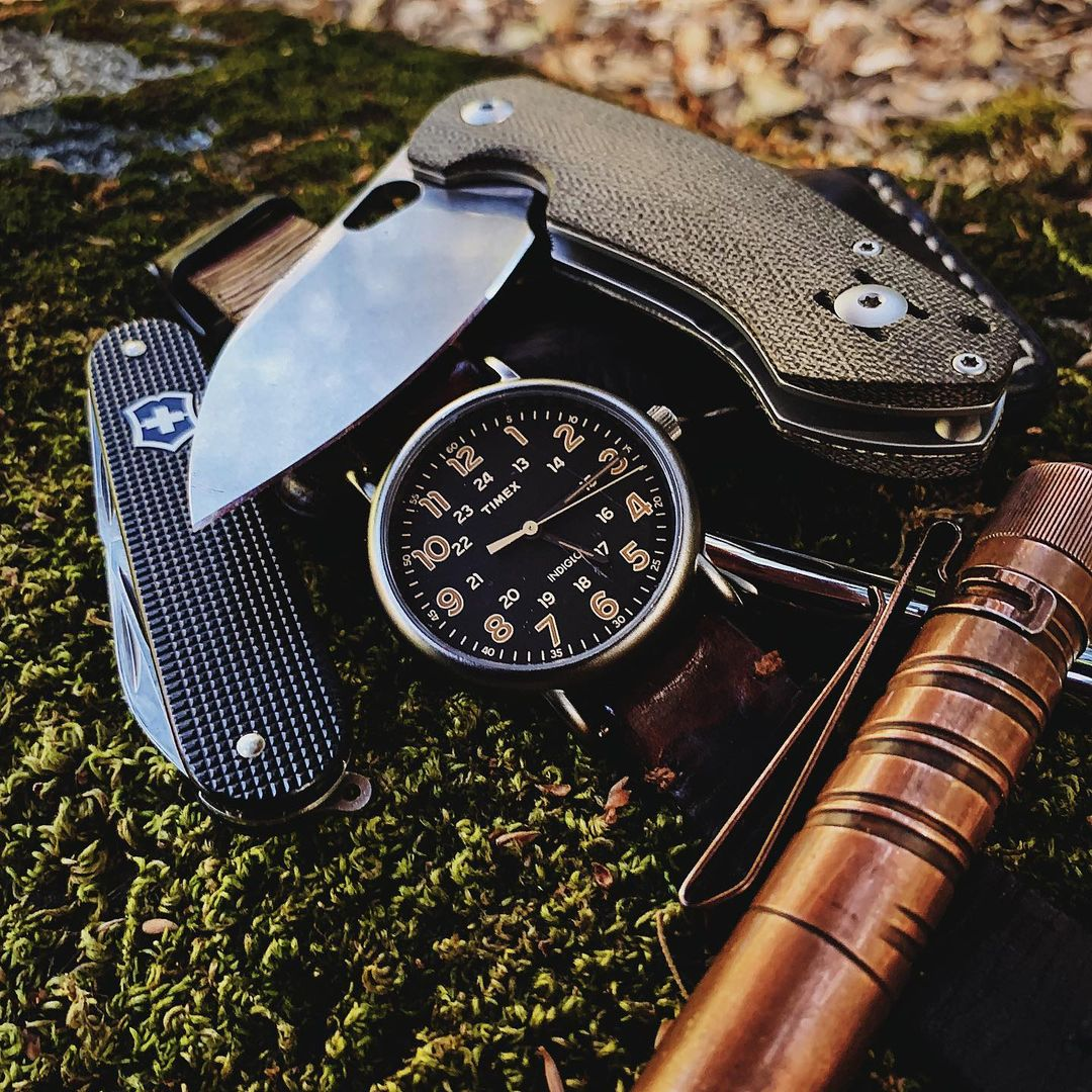 Weekender Chrono 40mm Leather Watch | Timex
